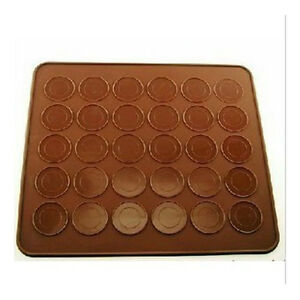 Baking-Pastry-Biscuits-Cookie-Sheet-Tool-Mat-DIY-Silicone-Soft-Bakeware-Food