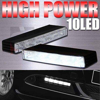 Euro Style High Power 10-LED Daytime Running Light DRL Driving Lamp Waterproof