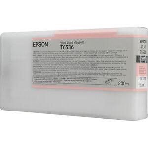 Genuine-Epson-Pro-4900-T653600-T6536-vivid-light-magenta-ink-T653-653-C13T653600