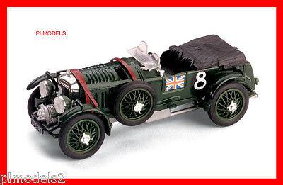 BRUMM - R114 BENTLEY SPEED SIX 4.5 LITRE #8 LE MANS 24HR 1932 *FREE P&P*