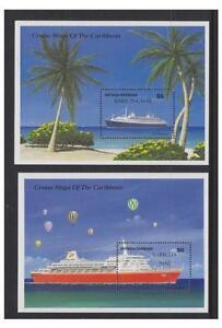 Antigua & Barbuda - 1989 Cruise Ships sheet x 2 - MNH - SG MS1134