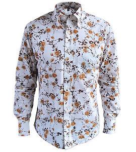 Mens Cream Button Down Shirt | Is Shirt