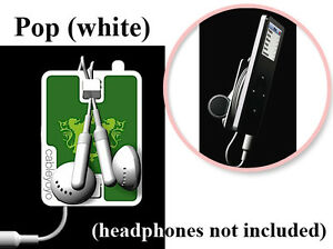 White-Cableyoyo-POP-iPod-iTouch-Nano-iPhone-MP3-Ear-Bud-Headphone-Cord-Winder