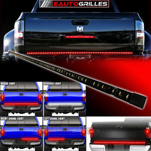 60 Quot Universal Red White Tailgate Led Strip Light Bar Tail