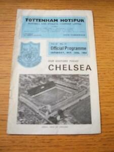 24101964 Tottenham Hotspur v Chelsea  Very heavy Creased Folded amp Team Chang - <span itemprop=availableAtOrFrom>Birmingham, United Kingdom</span> - Returns accepted within 30 days after the item is delivered, if goods not as described. Buyer assumes responibilty for return proof of postage and costs. Most purchases from business s - Birmingham, United Kingdom