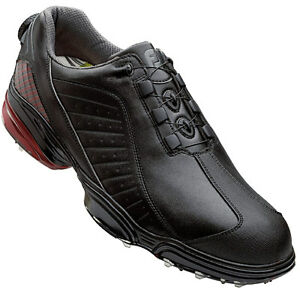 footjoy fj sport boa mens golf shoes black 53249 new