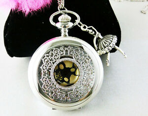 Ballet-girl-steampunk-silver-pocket-watch-necklace-jewelry