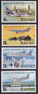 1980-Nauru-10th-Anniversary-Air-Nauru-MUH