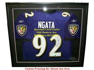 Details about Baltimore Ravens Frame For Your Authentic Jersey Case Display Shadowbox Custom