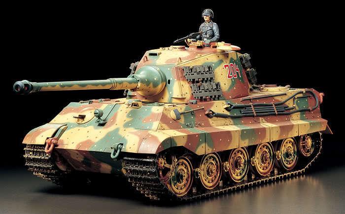 Tamiya 1/16 R/C Full Option  German WWII   KING TIGER  Tank Model  Kit   56018