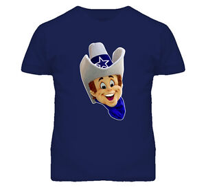 Dallas Cowboys Rowdy Mascot Football Team Fun Sports T