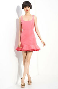 Image Is Loading Red Valentino Taffeta Dress Size 44 Us6