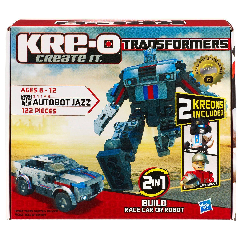 Kre-o transformatoren - jazz autobot -