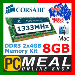 Corsair-Mac-Memory-8GB-RAM-DDR3-SODIMM-2-x-4GB-1333MHz-Apple-MacBook-Pro-iMac-C9