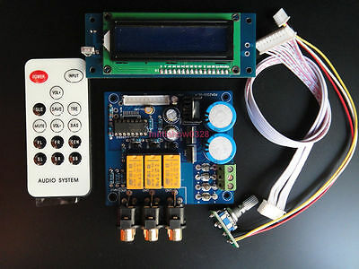 PGA2311 Remote Volume Controller with MUTE Preamp preamplifier DIY kit (unsolder