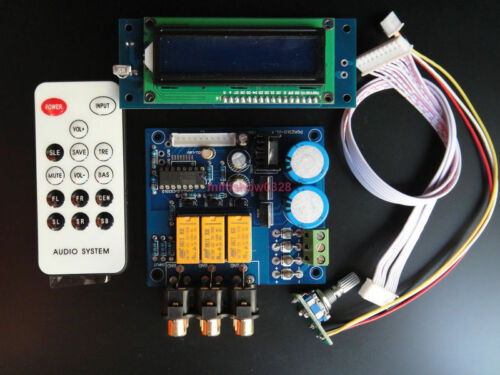 Assembled Upgrade PGA2311 Remote Volume Controller Preamp with MUTE