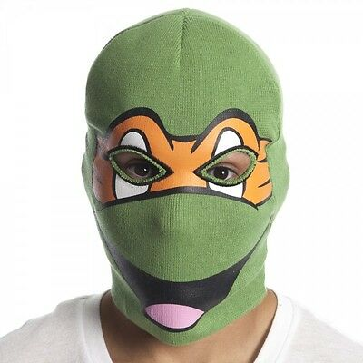MICHELANGELO - FACE MASK Winter Ski Balaclava Knit Beanie Hat Crazy Cool FUNNY
