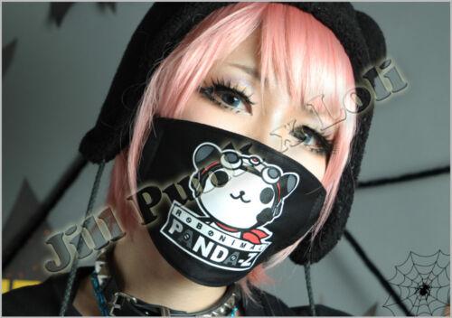 Lolita Japan Visual Robonimal Panda-Z Scout Pilot cosplay face Mask JMA6015