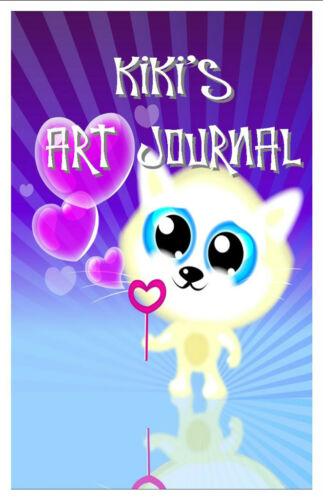 Art Journal Diary Sketchbook Kids and Young Teens Personalized Gift