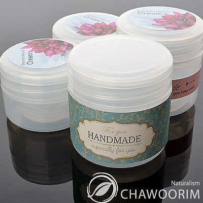 5pcs 50ml Empty Plastic Case,Cosmetic,Cream,Sample,Ointment Jar,Containers