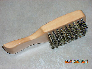 MINI-5-SCALPMASTER-SC-FIRM-1-SIDED-MENS-FADE-BRUSH-ALL-WOOD-HANDLE