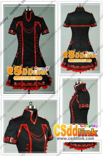 Vocaloid Megurine Luka cosplay costume black red csddlink