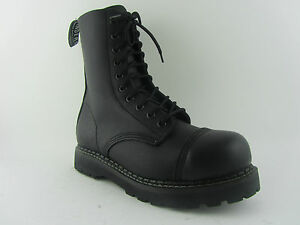 GRINDERS-STAG-BOOTS-BLACK-LEATHER-SAFETY-STEEL-CAP