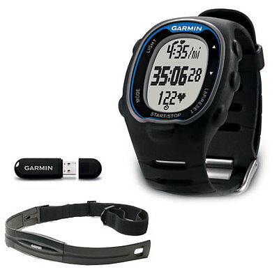 Garmin FR70 Fitness Watch with Heart Rate Mens Blue 743-70