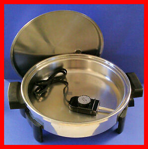 7256-EXCLNT-SALADMASTER-ELECTRIC-SKILLET-OIL-CORE-FRY-PAN