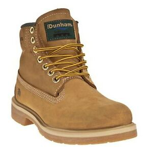 Dunham-7767-Mens-Wheat-Tan-Leather-WATERPROOF-Insulated-Slip-Resistant-Work-Boot