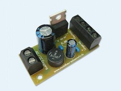 S117 Festspannungsregler 12V DC Fertigbaustein V1.0 ideal für 12V Straßenlampen