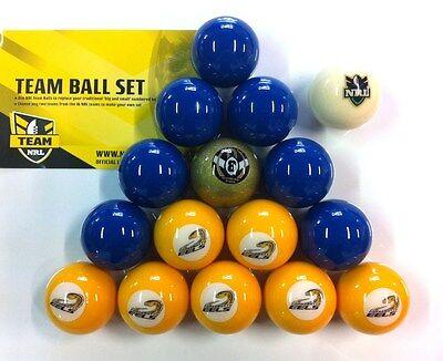 Parramatta Eels NRL Pool Snooker Billiards Balls Full Aramith Ball boxed Set