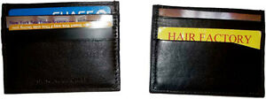 New 7 card leather organizer credit card ID card. picture Holder ATM/Bank cards