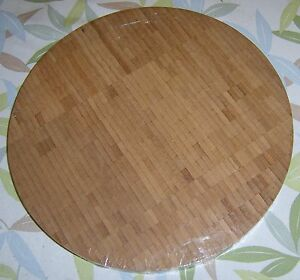 NEW-Set-of-2-Williams-Sonoma-ROUND-BAMBOO-CUTTING-BOARDS-14
