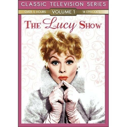 THE LUCY SHOW  CLASSIC TELEVISION  SERIES OVER 11 Plus Hours and 28 EPISODES!!
