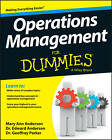 Operations Management for Dummies by Edward J. Anderson, Mary Ann Anderson, Geoffrey Parker (Paperback, 2013)