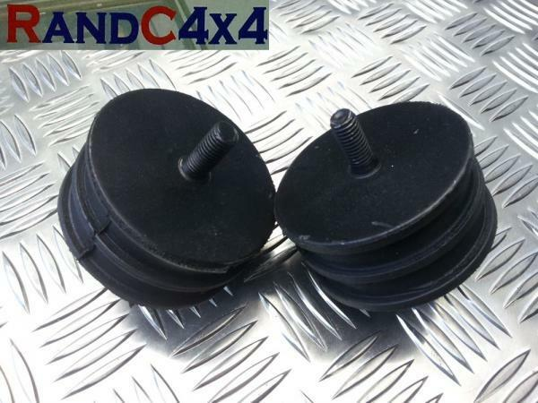 ANR1808 x2 Land Rover Defender 90 110 V8 Engine Mounting Rubber PAIR