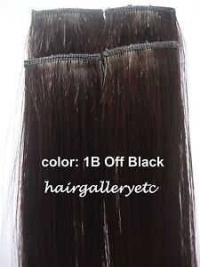 14-034-Clip-in-100-REMY-Human-Hair-Extensions-4pcs-GREAT-QUALITY-HAIR