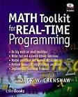 Math Toolkit for Real-time Programming by Jack W. Crenshaw (Paperback, 2000)