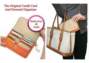 Credit-Card-Holder-And-Organizer-Has-40-Slots-And-Zippered-Center-Compartment