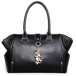 Genuine-Leather-NWT-Womens-Ladies-Large-Vintage-Handbag-Purse-Hobo-Shoulder-Bags