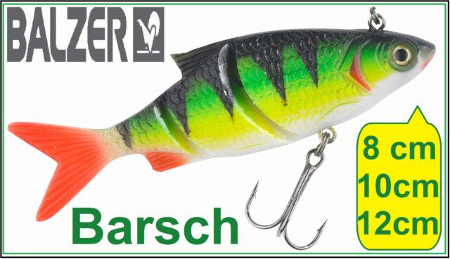 Balzer Lazer Eye Shad Barsch 8cm 11g 10cm 18g 12cm 30g 15cm 48g Live Gummifisch