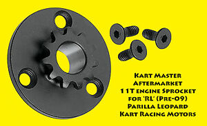 IAME-Parilla-Leopard-Engine-Sprocket-10T-or-11T-AfterMarket-pre-09-3-hole