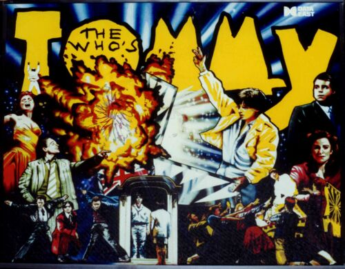 TOMMY (THE WHO'S)  DATA EAST COMPLETE PINBALL LED KIT