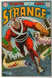DC-ADAM-STRANGE-Comics-221-1969-superman-superboy-Legion-heroes-FN