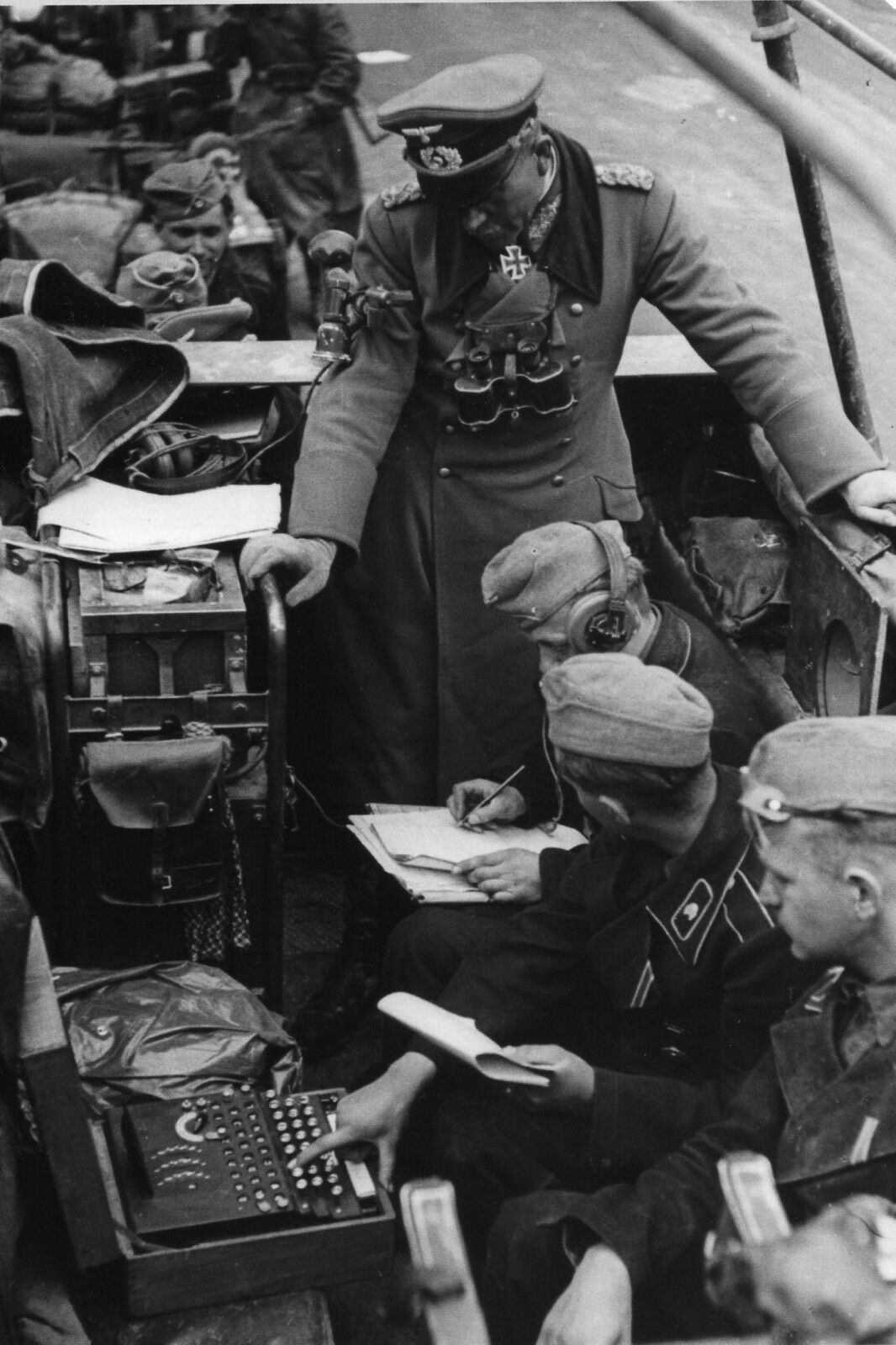 Militaria WW2 Moto chenillée allemande