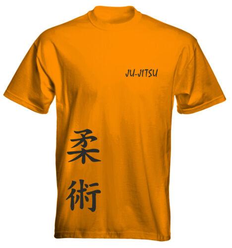 Velocitee Kids T-shirt JU-jitsu Arti Marziali Taglia e Colore opzioni UK Venditore