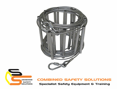 Bonwick Caving Wire Ladder 6m 20ft Climbing Safety Equipment | AUTHORISED DEALER