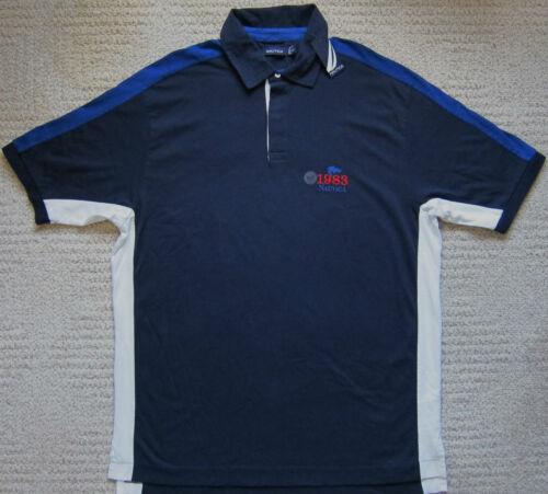 Navy//White// Blue NWT BIG /& TALL Colorblock Polo Men/'s NAUTICA $69.50