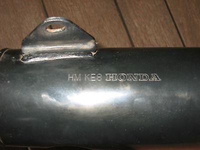 HONDA 1983 VT250F EXHAUST MUFFLER / SILENCER LEFT HAND SIDE